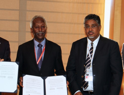Memorandum of cooperation between the Embassy of Djibouti and the Japan Sports Agency