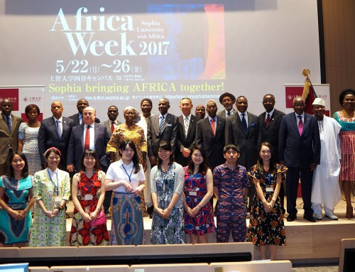 Africa Day 2017 at Sophia University