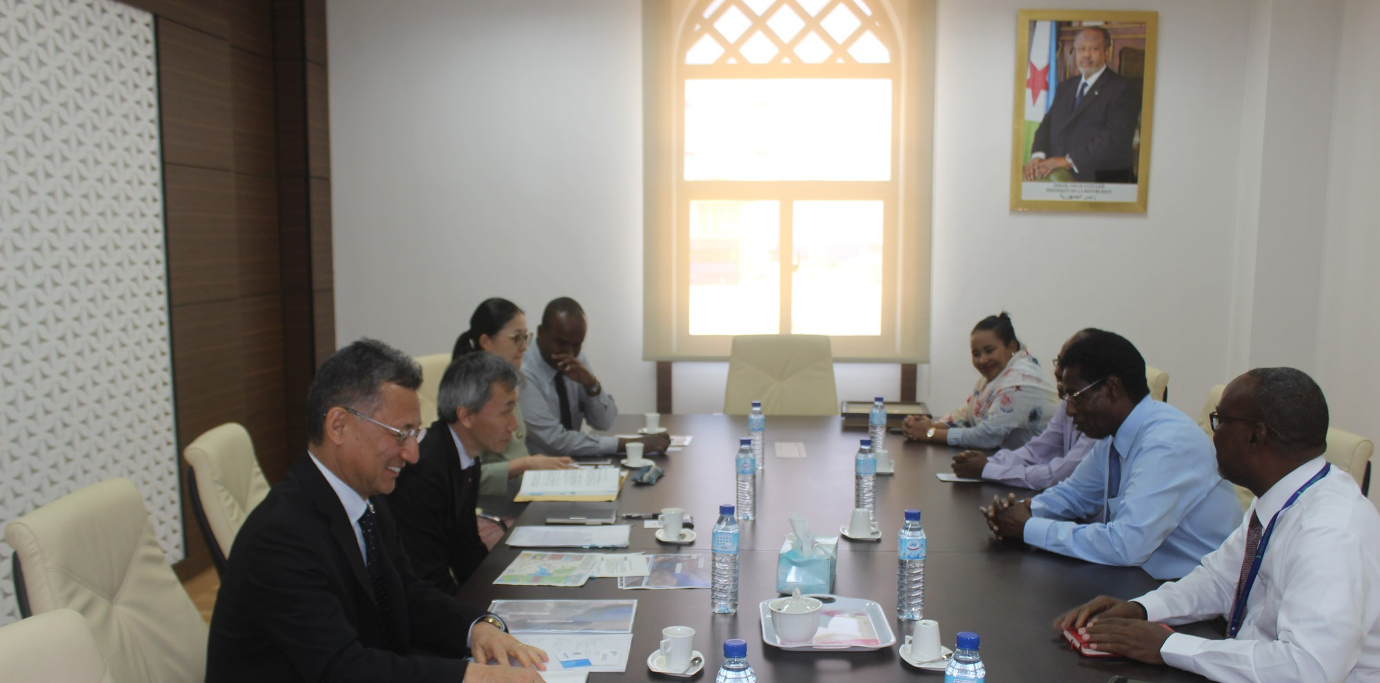 Visit of JICA delegation in Djibouti