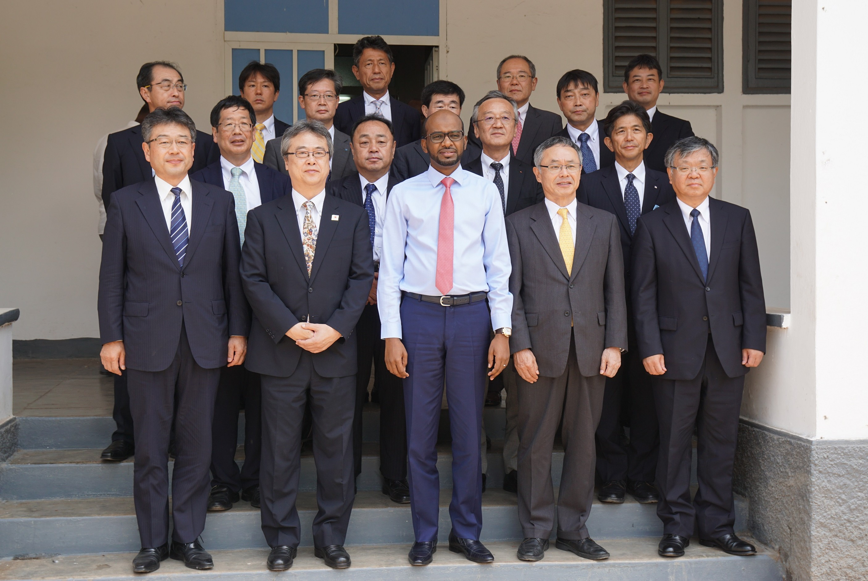 Delegation of Japanese Shipowners' Association visit Djibouti
