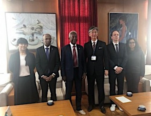 Visit to the Prefectural General High School of Saitama Ina Gakuen Department within the framework of the Francophonie.
