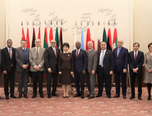 Meeting between the Minister of Justice and the Arab diplomatic corps